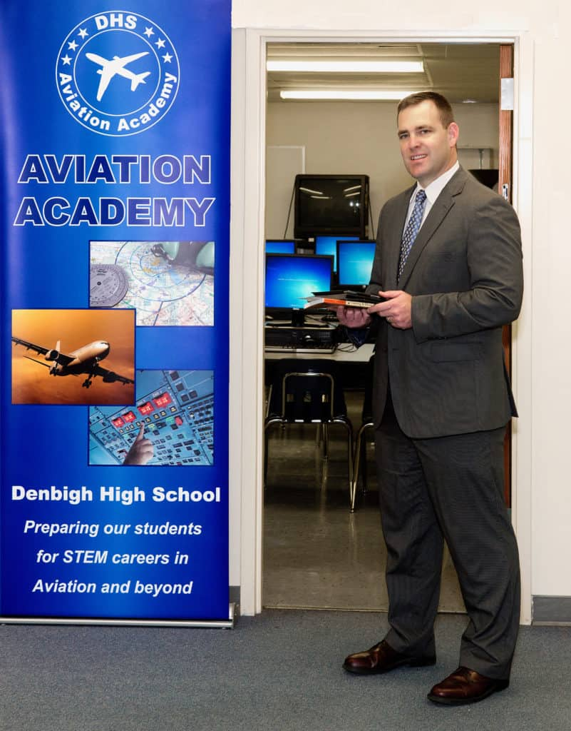 Aaron L. Smith is at Aviation Academy.