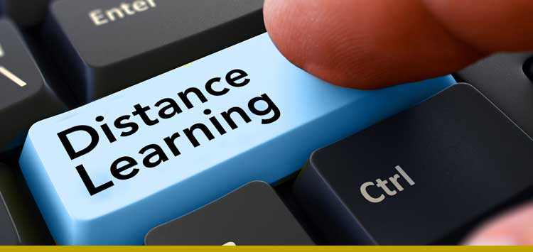 Schools and Businesses alike must now incorporate distance learning if they are going to keep up with today's high paced information exchange